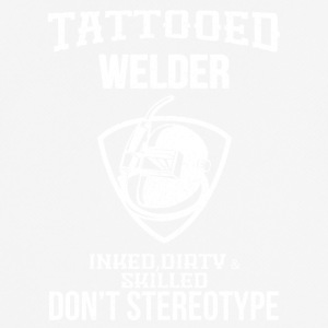 TATTOOED WELDER - Men's Breathable T-Shirt