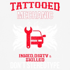 TATTOOED MECHANIC - Männer T-Shirt atmungsaktiv
