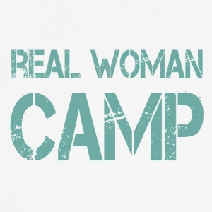 REAL WOMAN CAMP - Männer T-Shirt atmungsaktiv
