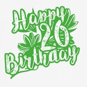 20 års fødselsdag gave