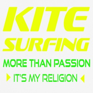 Kite MER ÄN PASSION - ITS MY RELIGION - Andningsaktiv T-shirt herr