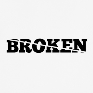 Broken - Pustende T-skjorte for menn