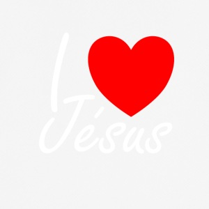 I love Jesus - Men's Breathable T-Shirt
