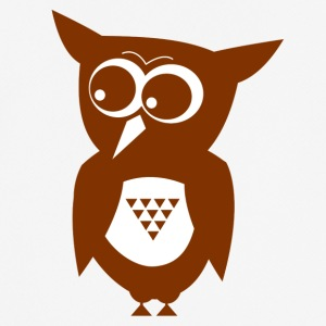 Brown owl - Men's Breathable T-Shirt