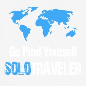 Go Find Yourself, SoloTraveler - Men's Breathable T-Shirt