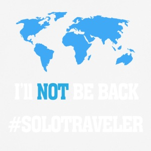 I'll Not Be Back, SoloTraveler - Men's Breathable T-Shirt