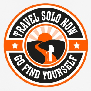 Travel Solo Now, Go Find Yourself - T-shirt respirant Homme