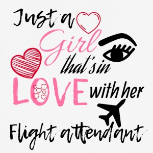 A girl who's in love with her flight attendant - Men's Breathable T-Shirt