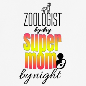 Zoologist by day super mom by night - Men's Breathable T-Shirt