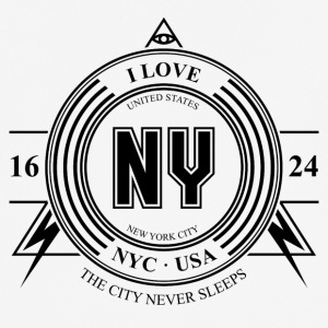 New York City Badge - Men's Breathable T-Shirt