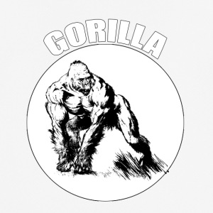 gorilla - Men's Breathable T-Shirt