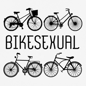 Bicycle: Bikesexual - Men's Breathable T-Shirt
