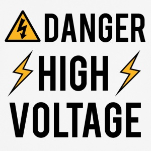 Electrician: Danger! High Voltage! - Men's Breathable T-Shirt