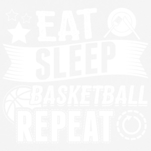 basketball EAT SLEEP Basketball Basketballer B-Bal - Männer T-Shirt atmungsaktiv