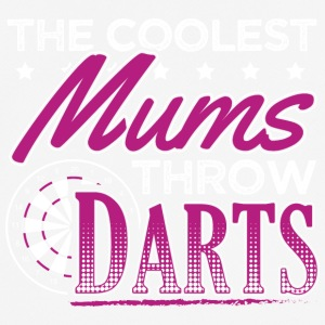 COOLEST MUMS PLAY DARTS - Men's Breathable T-Shirt