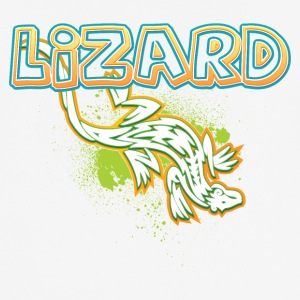 Cool tribal lizard - Men's Breathable T-Shirt