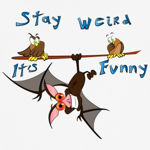 stay weird - Camiseta hombre transpirable