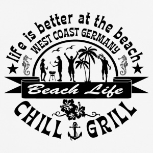 Chill Grill West Coast - Andningsaktiv T-shirt herr