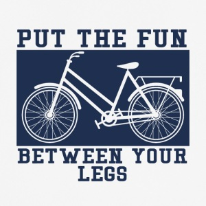 Fiets: Put The Fun Between You Legs - mannen T-shirt ademend
