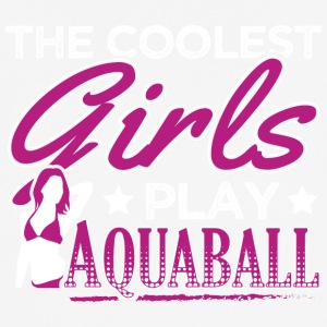 COOLEST GIRLS PLAY AQUABALL - Männer T-Shirt atmungsaktiv