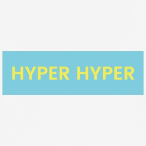 HYPER HYPER YLW - Men's Breathable T-Shirt