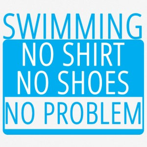 Swimming / Swimmer: Swimming - No Shirt, No Shoe - Men's Breathable T-Shirt