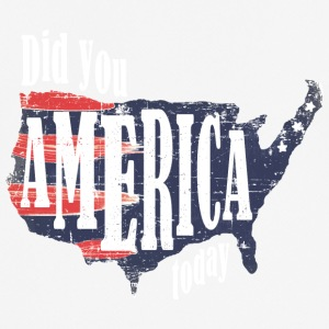 Did You America Today - Men's Breathable T-Shirt