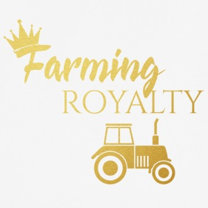 Farmer / Farmer / Bauer: Farming Royalty - Men's Breathable T-Shirt
