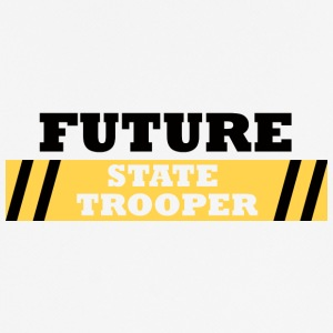 Politiet: Future State Trooper - Pustende T-skjorte for menn