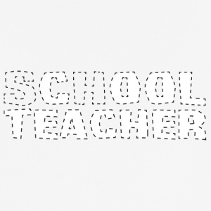 Teacher / School: Cool Teacher - Men's Breathable T-Shirt