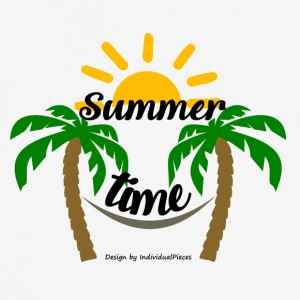 Summertime - Pustende T-skjorte for menn