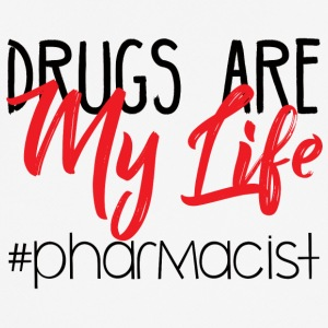 Pharmazie / Apotheker: Drugs Are My Life #pharmaci - Männer T-Shirt atmungsaktiv