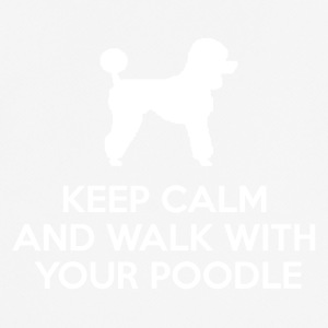 Hund / Pudel: Keep Calm And Walk With Your Poodle - Männer T-Shirt atmungsaktiv