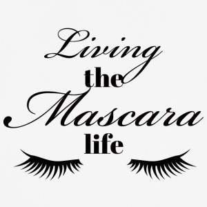 Beauty / Makeup: Living the life Mascara - Pustende T-skjorte for menn