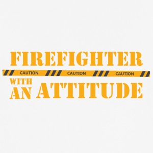 Fire Department: Firefighter with an Attitude - Men's Breathable T-Shirt