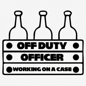 Polizei: Off Duty Officer - Working on a Case - Männer T-Shirt atmungsaktiv