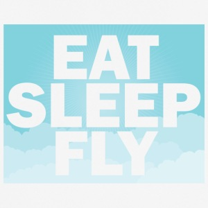 Pilot: Eat, Sleep, Fly, Repeat - Männer T-Shirt atmungsaktiv