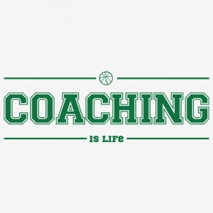 Coach / Trainer: Coaching Is Life - Men's Breathable T-Shirt