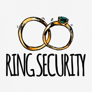 Wedding / Marriage: Ring Security - Men's Breathable T-Shirt
