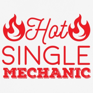 Mekaniker: Hot Single Mekaniker - Herre T-shirt svedtransporterende