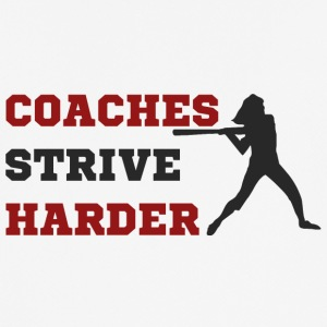 Coach / Trainer: Coaches Strive Harder - Männer T-Shirt atmungsaktiv