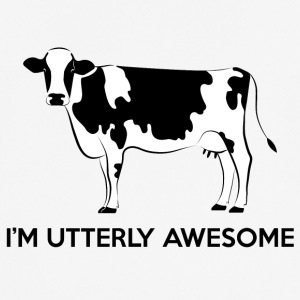Cow / Farm: I'm Utterly Awesome - Men's Breathable T-Shirt