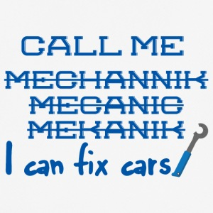 Mechanic: Call Me Mechanic - ik kan auto's vast te stellen. - mannen T-shirt ademend