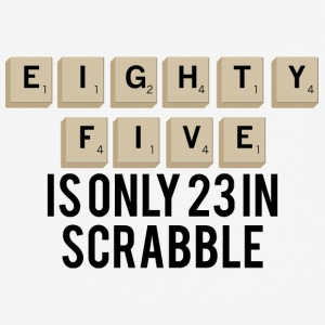 85. Birthday: Eighty Five Is Only 23 In Scrabble - Men's Breathable T-Shirt
