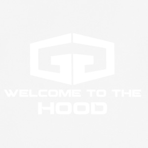 GG Welcome to the Hood Logo white - Männer T-Shirt atmungsaktiv