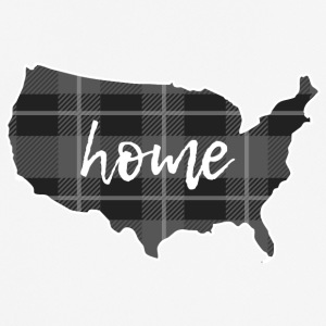 USA is home - Männer T-Shirt atmungsaktiv