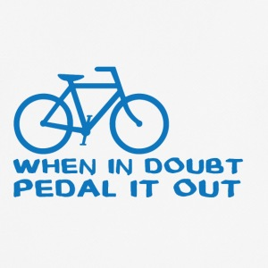 Bicycle: When in doubt, pedal it out. - Men's Breathable T-Shirt