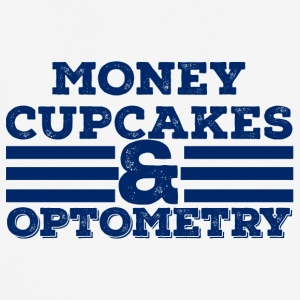 Optiker: Money, Cupcakes and Optometry - Männer T-Shirt atmungsaktiv