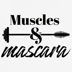 Beauty / MakeUp: Muscles & Mascara - Männer T-Shirt atmungsaktiv