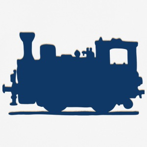 Vintage Steam Train - Andningsaktiv T-shirt herr